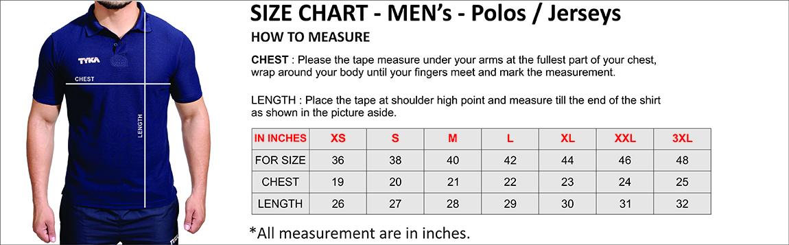 92e4e12d314f Men's Top Size Guide